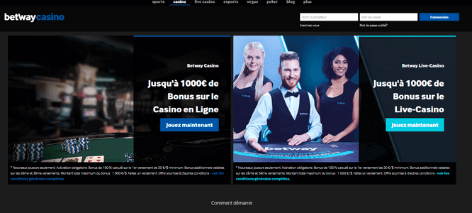 Introduction to Betway Casino