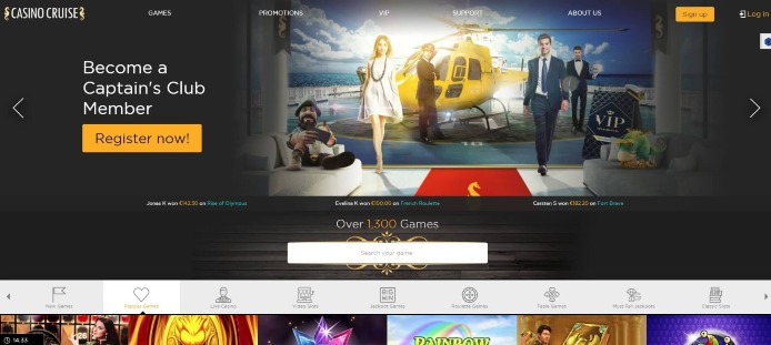 Casino Cruise Takes You to an Amazing Online Gaming Trip