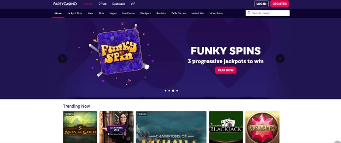 PartyCasino Will Turn Online Gaming into a Memorable Experience